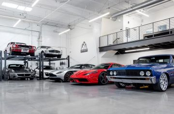 exotic car storage denver