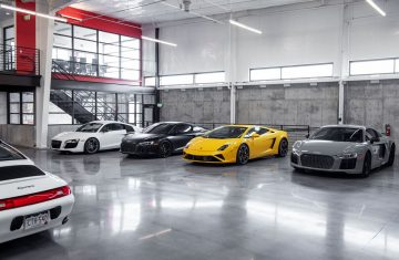 luxury car storage denver